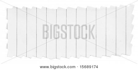 Paper Banner With Frayed Edges