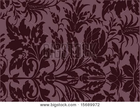 An antique background image in burgundy