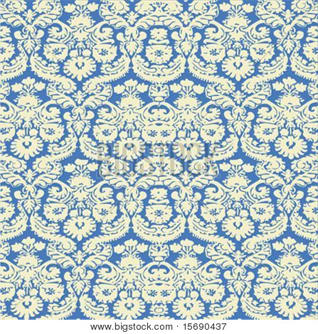Seamless antique background image - tileable and vector