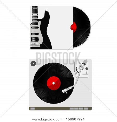 Vinyl Record And Player
