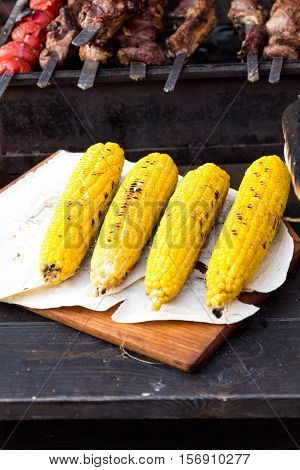 Cooked Corn.