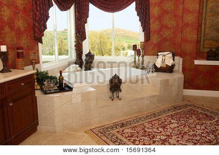 Elegantes viktorianisches Badezimmer