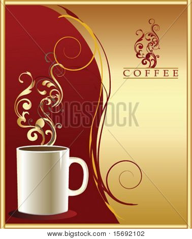 Vector coffee design