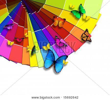 Paleta de colores de la naturaleza