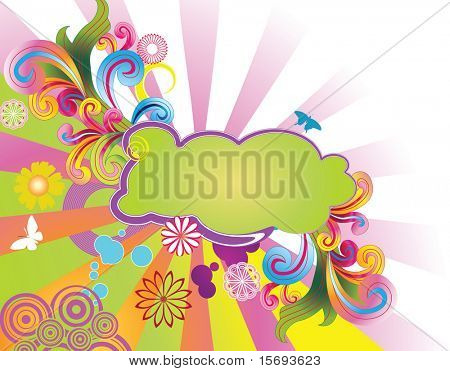 Colorful Summery background