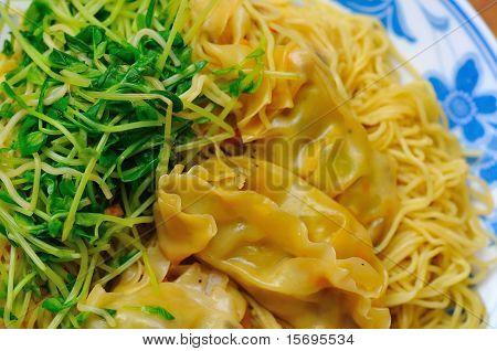 Meat Dumpling Noodles
