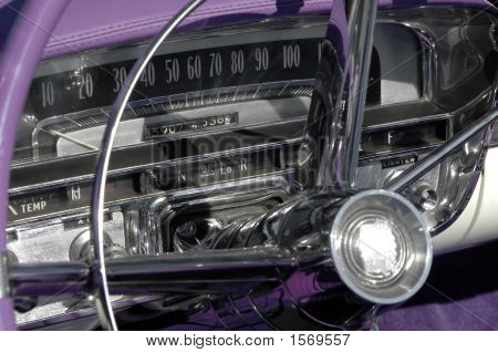 Old Chrome And Purple