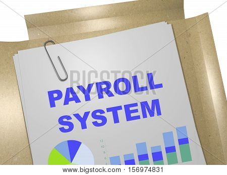 Payroll System - Business Concept