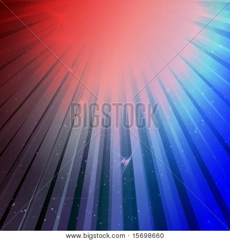 4th of July star burst explosion background