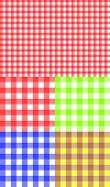 Tablecloth texture-checked fabric seamless vector pattern