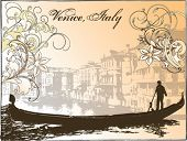 Vector image of Venice, Italy