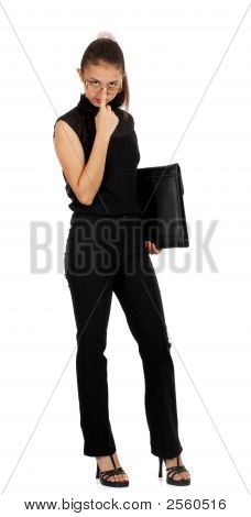 Businesswoman In All Black