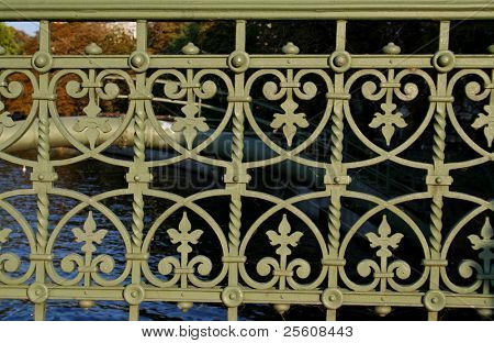 bridge railing pattern