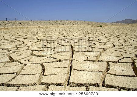 dry desert in red sea region, sinai, egypt