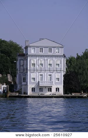 house on the bosphorus, istanbul, turkey