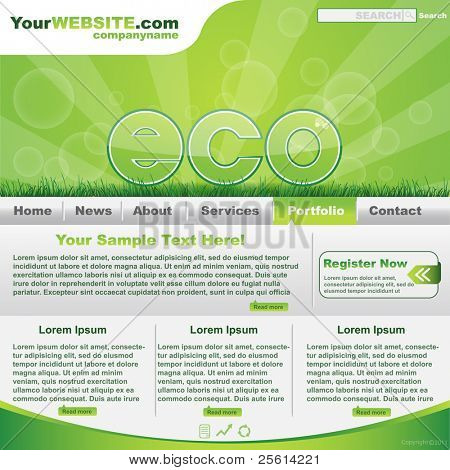 Green eco website