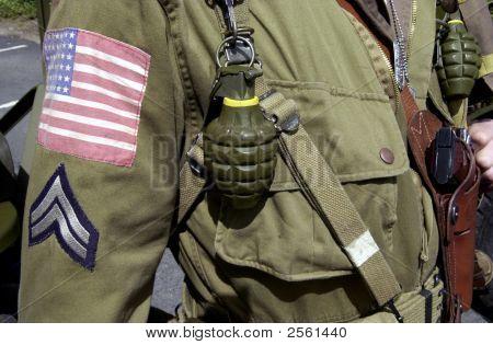 GI Joe Weltkrieg Ii uniform Soldat