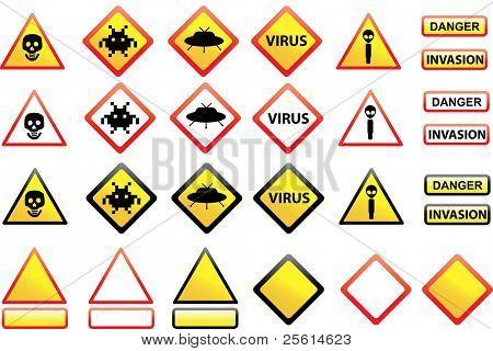 Alien invasion warning signs