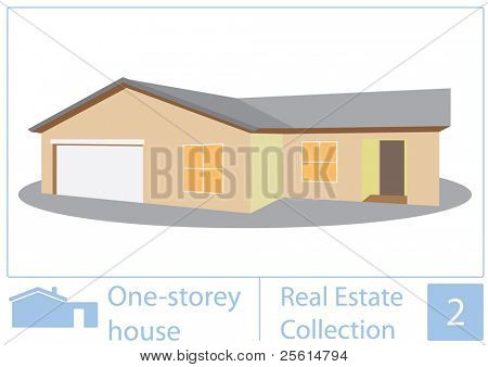 One storey house