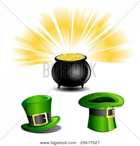 St Patrick's Day Objects/icon