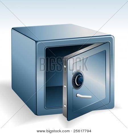 an open vault