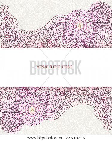 Henna Banner