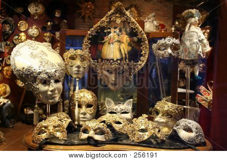 Mask Shop Of Venice