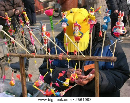 Carving Traditional Chinese Toys Lunar New Year