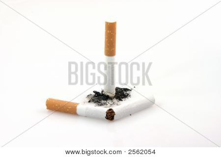 Broken Cigarette