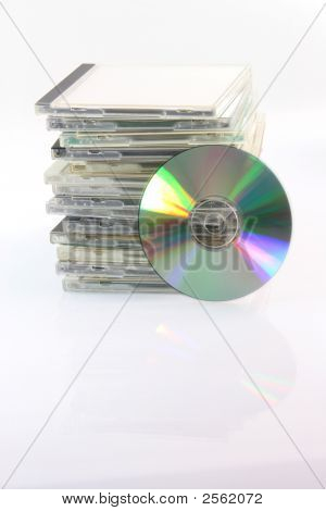 Compact Disc And Cases
