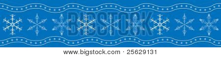 Snowflakes. Seamless pattern, wallpaper or textile. Vector.