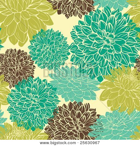 Floral seamless pattern. Could used for fabric,textile,wrapping paper