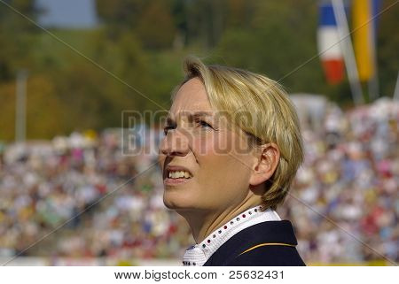 World Champion Anabel Balkenhol, Marbach Stallion Parade, Germany