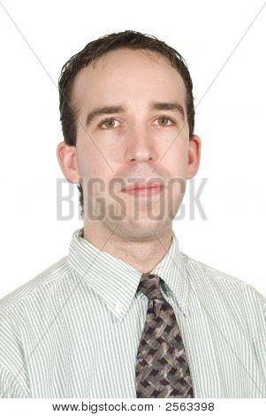 Retrato de trabajador de oficina