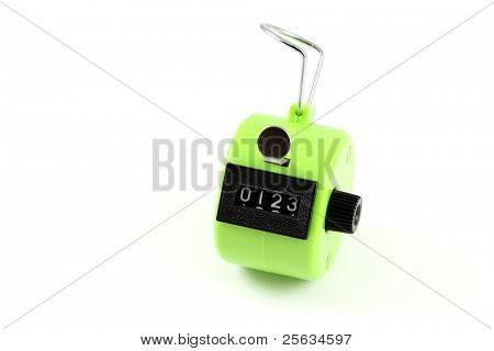 4 digits Hand Held Tally Counter : manual counting accessory to track number