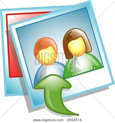 Upload Photo Icon Or Symbol