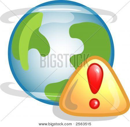 Web Error Icon Or Symbol