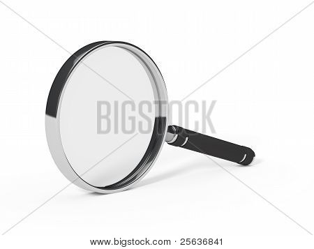 Magnifying Glass Less Chrome