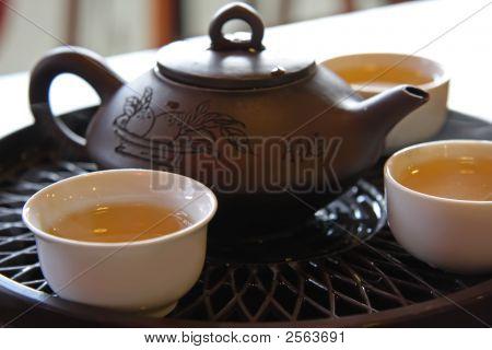 Servicio de té chino