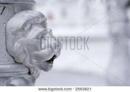 Lions Head Spout