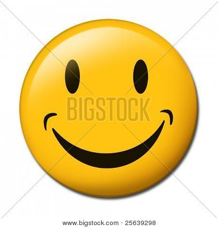 Un icono universal smiley.