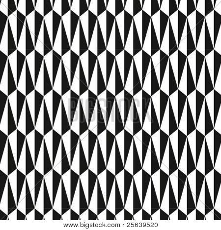 Um padrão triangular, negrito vector