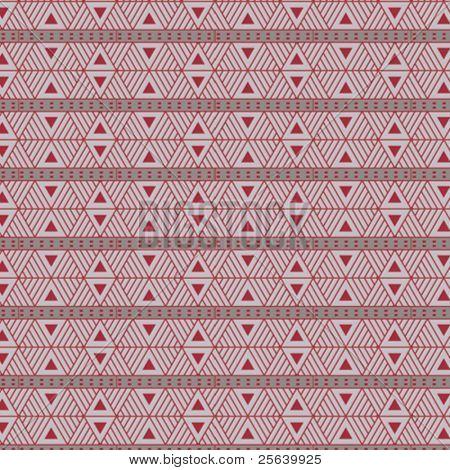 Seamless, triangular vector pattern.
