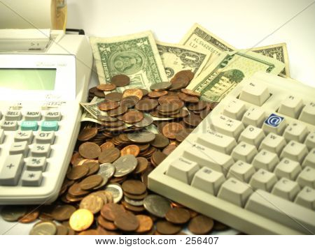 Calculator Keyboard  Money