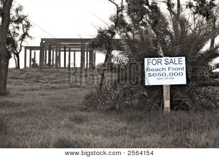 Beach Front Lot 4 Sale