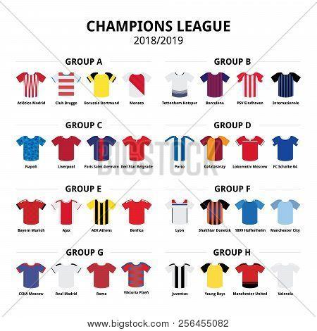 Champions League Football Jerseys Kit