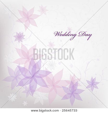 wedding floral background for invitations