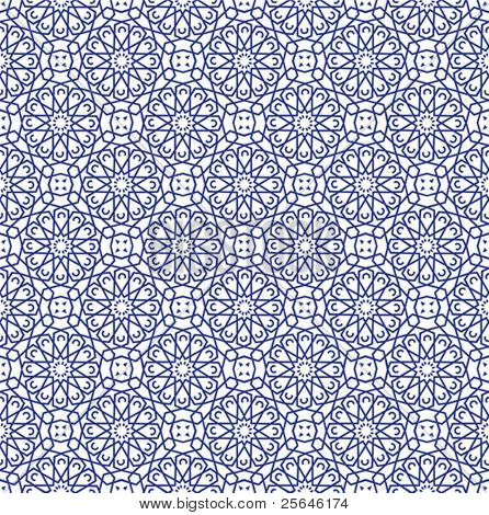 Arabian seamless pattern