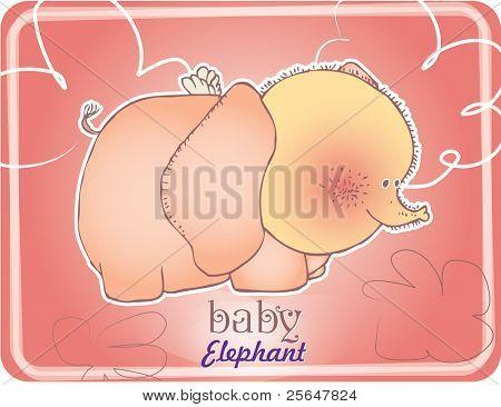 baby elephant design