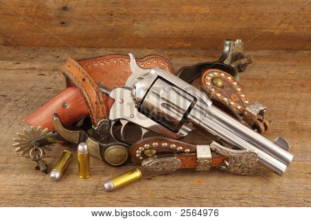 Six Gun And Spurs